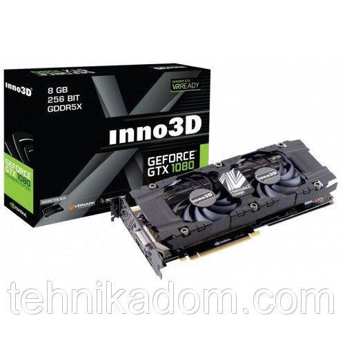 Видеокарта Inno3D GeForce GTX 1080 HerculeZ Twin X2 8192MB (N1080-1SDN-P6DN)