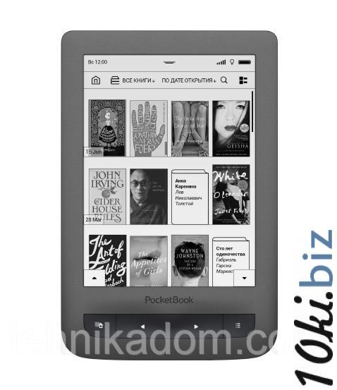 Электронная книга PocketBook 626 Touch Lux 3 Grey (PB626(2)-Y-CIS) - Электронные книги (устройства) на Хмельницком рынке