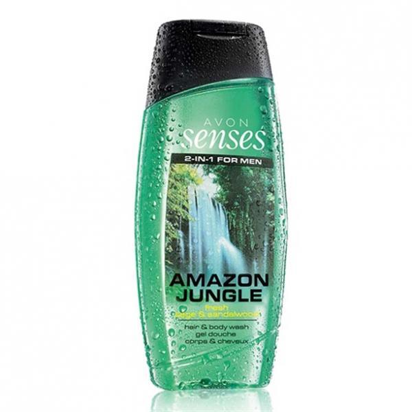 Шампунь-гель для душа для мужчин с дезодорирующим эффектом «Сила притяжения» (500 мл)