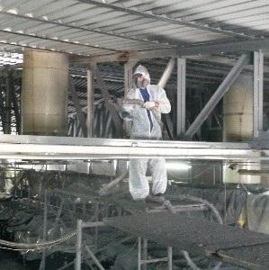 Фото  Антикоррозийная обработка металлоконструкций