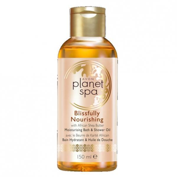 SPA Увлажняющее масло для душа и ванны с маслом африканского дерева ши «Непревзойденное питание» (150 мл)