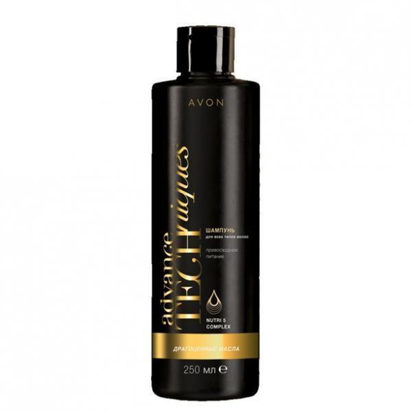 Фото для волос, шампуни и ополаскиватели Шампунь для всех типов волос «Драгоценные масла», 250 мл