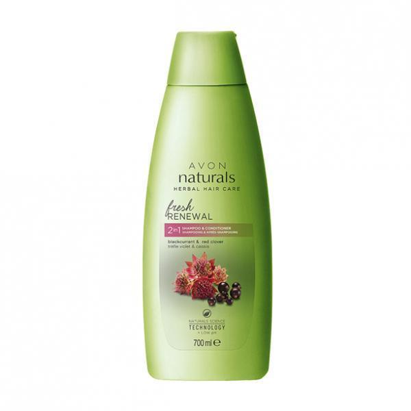 Фото для волос, шампуни и ополаскиватели Шампунь/ополаскиватель 2-в-1 «Здоровый блеск. Красный клевер и черная смородина», 700 мл