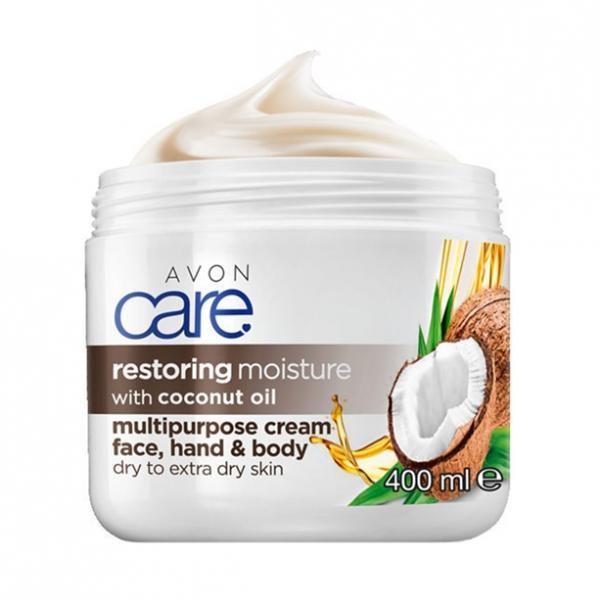 Крем для лица и тела «Масло кокоса. Восстановление» (400 мл)