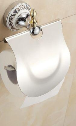 Настенный держатель туалетной бумаги с крышкой 0272