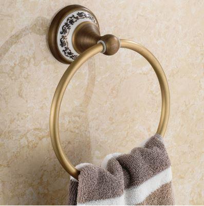 Вешалка кольцо на кухню или для ванной 0331