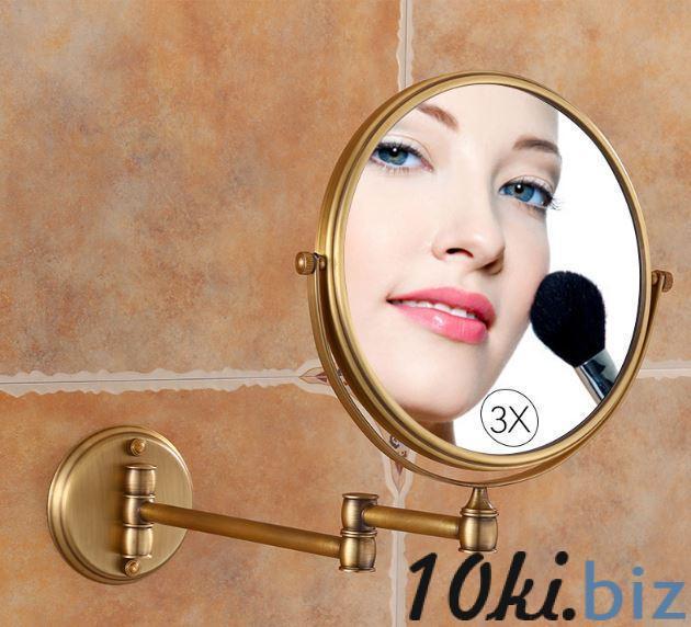 Зеркало настенное в бронзе 0414 Зеркала косметические в Украине