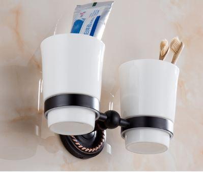 Стакан настенный для зубных щеток 0449