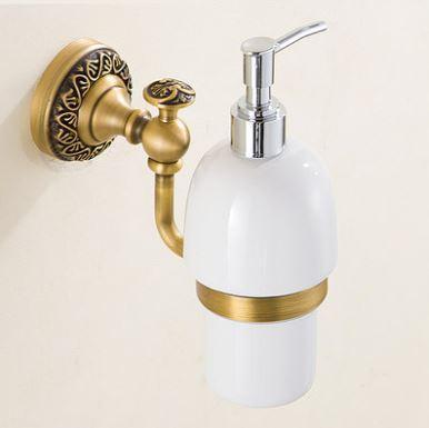 Дозатор для жидкого мыла моющего средства настенный 0462