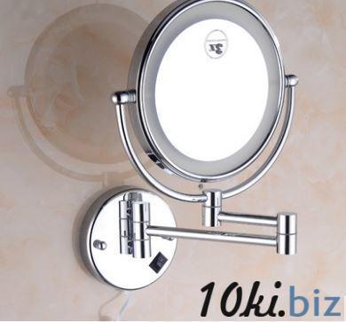 Зеркало подвесное с подсветкой в хроме 0469 Зеркала косметические в Украине