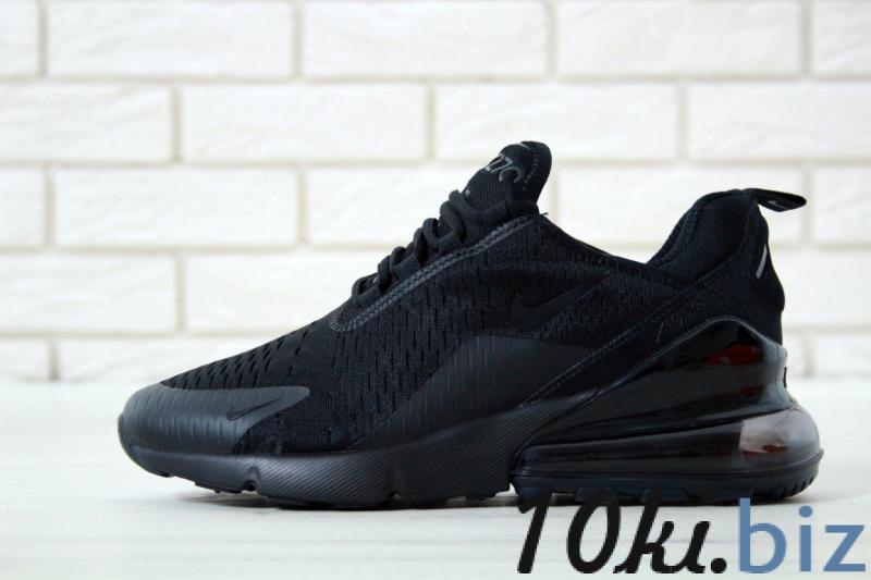 Nike Air Max 270 Black (36-45) Кроссовки, кеды мужские в Украине