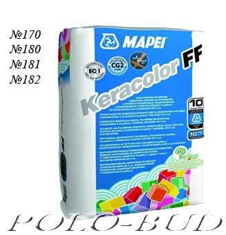 Затирка для швов MAPEI Keracolor FF ALU, 5 кг (Польша)