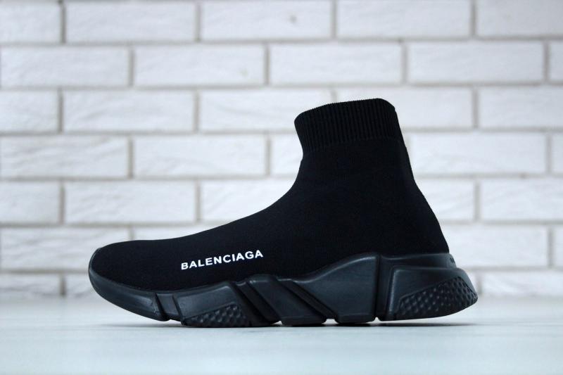 Balenciaga Speed Runner Sock Black (36-45)
