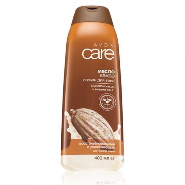 Восстанавливающий увлажняющий лосьон для тела с маслом какао и витамином Е, 400 мл