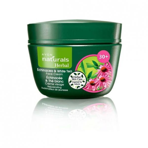 Фото для волос, naturals Крем для лица «Эхинацея и белый чай» (50 мл)