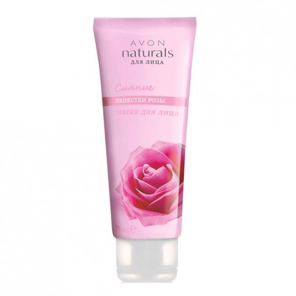 Фото для волос, naturals Маска для лица «Лепестки розы. Сияние» (75 мл)