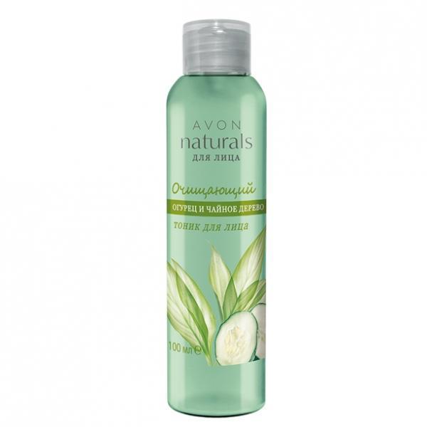 Фото для волос, naturals Очищающий тоник для лица «Огурец и чайное дерево» (100 мл)