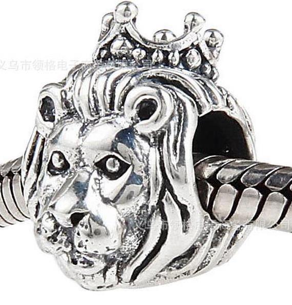 "Шарм бусина Pandora (Пандора) ""Король Лев"""