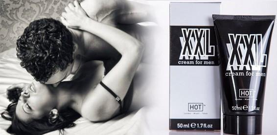 Крем XXL Hot cream for men для увеличения члена и усиления потенции 50 мл