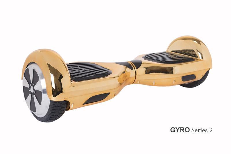 Гироскутер с 6,5 дюймовыми колесами Smart Way U3 (зеркальный золотой)
