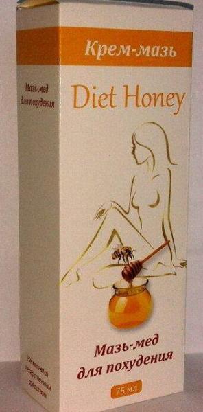 Diet Honey - Мазь-мед для похудения (Диет Хани), 75 мл