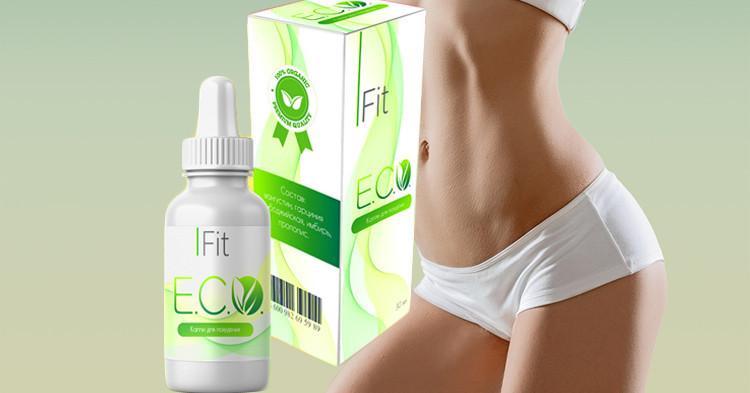Eco Fit - капли средство для похудения (Эко Фит), 30 мл