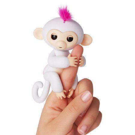 Интерактивная игрушка обезьянка Fingerlings Baby Monkey (Фингерлингс Бейби Манки) София