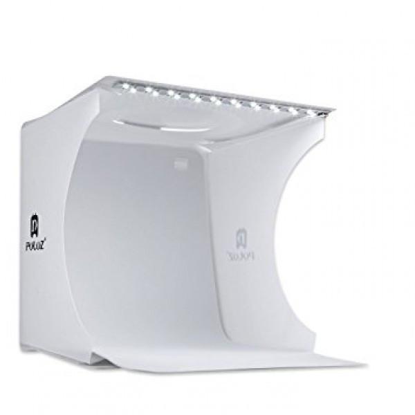 Световой лайткуб (фотобокс) Puluz PU5022 с LED подсветкой для предметной макросъемки 24*23*22 см (SUN0116)