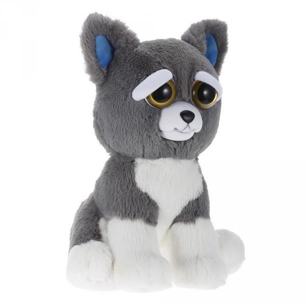 Интерактивная игрушка Feisty Pets Добрые Злые зверюшки Плюшевый Пес Сэмми 20 см (SUN0137)