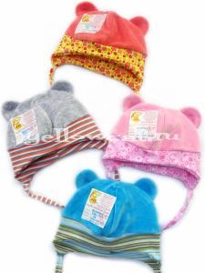 Фото  Детские шапочки, чепчики, панамки