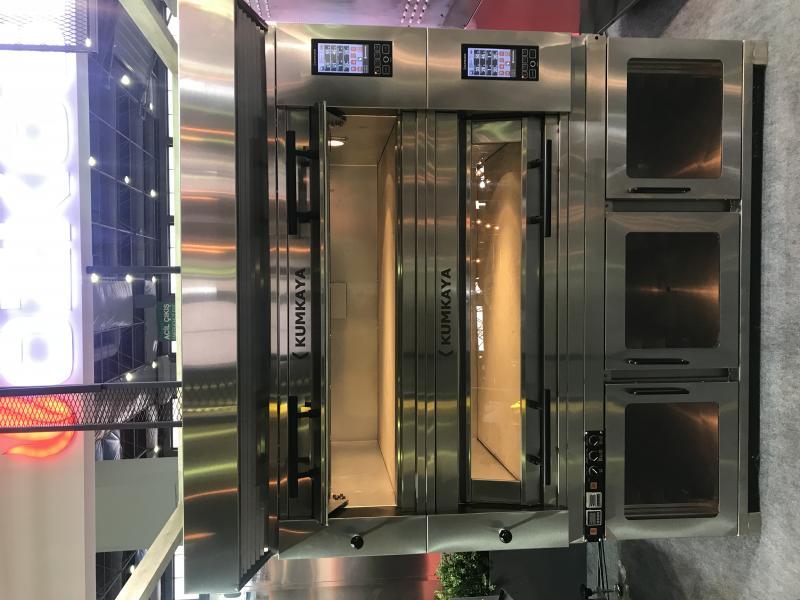 Подовая модульная печь EF 2050 (2 яруса – электрическая)