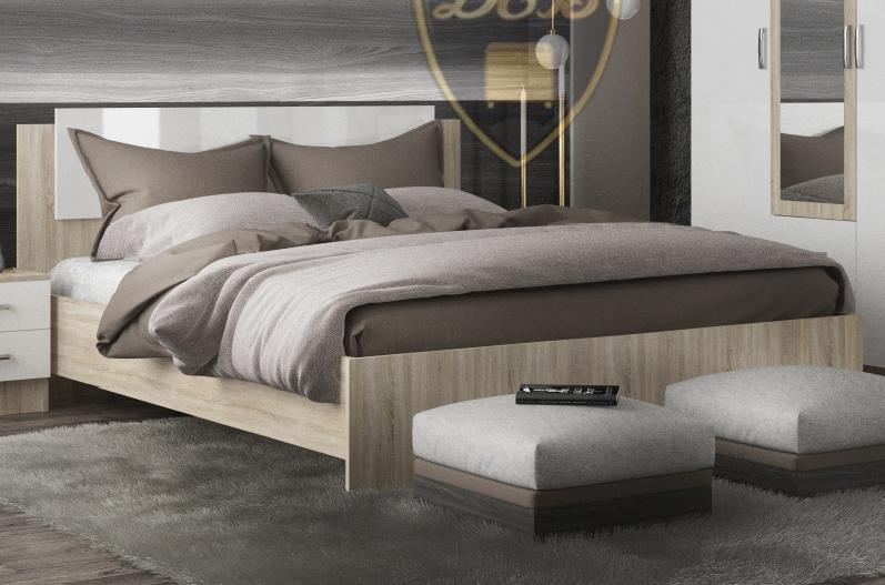 Фото Кровати Кровать Софи 1,6м (ДСВ)