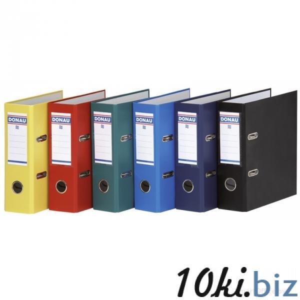 Папка-регистратор А5, ПВХ ЭКО Donau, корешок 7,5 см., цвета см. подробнее купить в Минске - Канцелярские папки, регистраторы, планшеты, скоросшиватели с ценами и фото