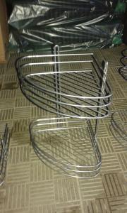 Фото  Полка угловая металлическая 4 яруса