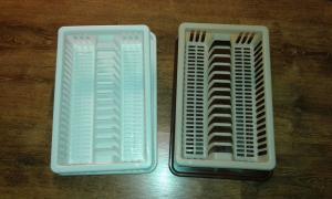 Фото  Сушка для посуды пластмассовая
