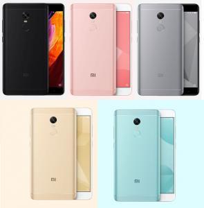 Фото Телефоны Xiaomi Redmi Note 4 x