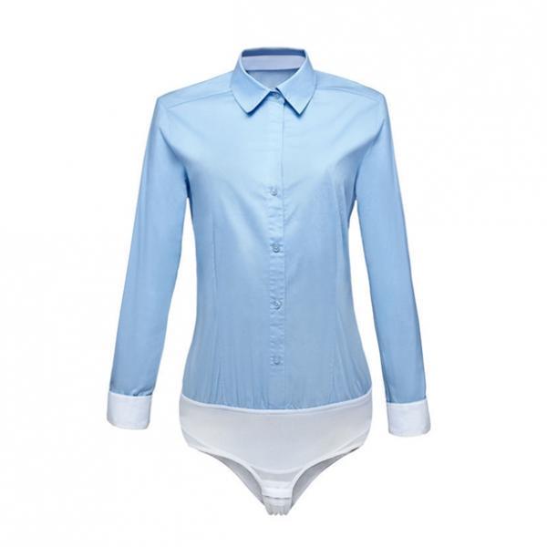 Блузка-боди «Изящный силуэт»