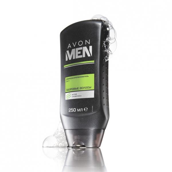 Фото для волос, шампуни и ополаскиватели Шампунь/ополаскиватель 2-в-1 «Здоровые волосы»