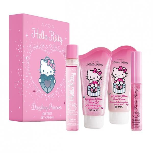Детский парфумно-косметический набор AVON Hello Kitty