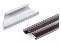 Фото Ручки для окон из ПВХ Ручка балконная, алюминиевая.