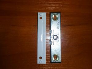 Фото Ручки для окон из ПВХ Защелка балконная GU, 9/13 мм.