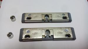 Фото Ручки для окон из ПВХ Защелка балконная Vorne 9/13 мм для ПВХ.