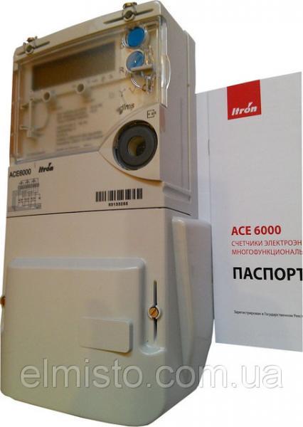 Электросчетчик АСЕ-6000 5-100А класс точн.1.0, трехфазный многотарифный актив-реактив прямого включения Itron/Actaris (Франция)