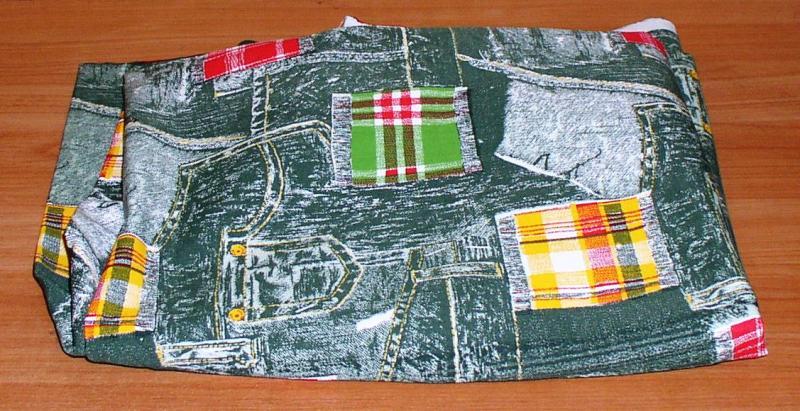 Отрез ткани: коттон (2,25 м2) *7347