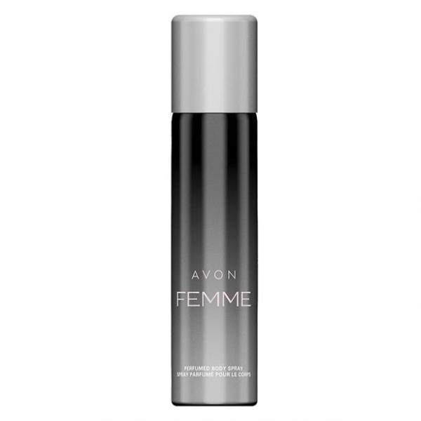 Парфюмированный дезодорант-спрей для тела Avon Femme