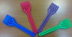 Фото Инструмент для монтажа Лопатка ПВХ для монтажа стеклопакетов.