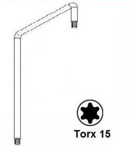 Фото Инструмент для монтажа Ключ регулировочный Torx Т15 (