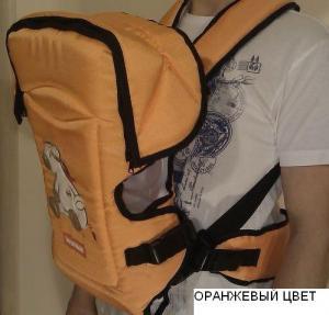 Фото Кенгуру-переноски Рюкзак кенгуру переноска для детей Rainbow Womar15 excluzive