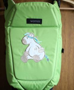 Фото Кенгуру-переноски Рюкзак переноска для детей womar globetroter 7 excluzive womar (оригинал,цвета в ассортименте)