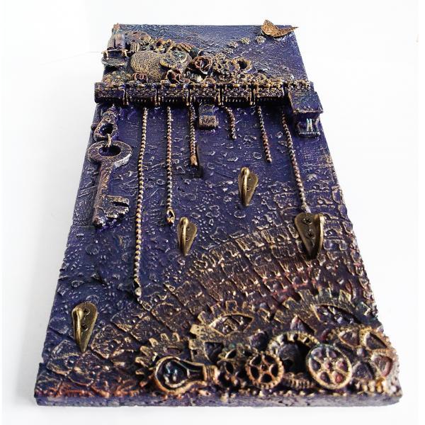Фото Ключницы Настенная ключница в стиле лофт Подарки для интерьера прихожей